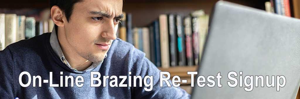 Brazing-Retest Online